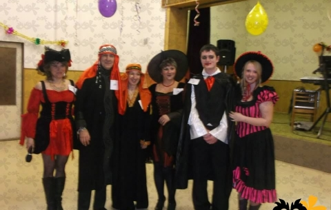 Costume ball in Trnávka